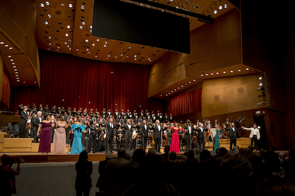 Stars of Lyric Opera at Millennium Park Cast [Photo © Todd Rosenberg]