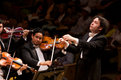 Gustavo Dudamel  [Photo by Nohely Oliveros]