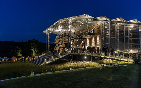 Garsington Opera Pavilion [Photo by Clive Barda]