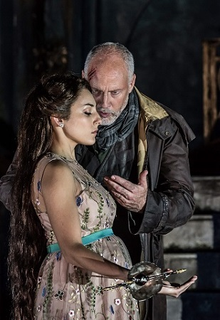 Garsington Opea 2017 Pelléas et Mélisande Andrea Carroll (Mélisande) Paul Gay (Golaud).jpg