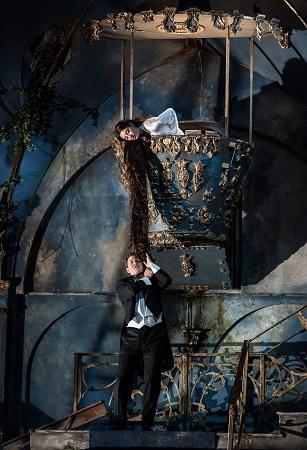 Garsington Opera 2017 Pelléas et Mélisande Jonathan McGovern and Andrea Carroll in title roles credit Clive Barda.jpg