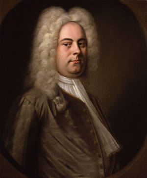 Portrait of Georg Friedrich Händel (1685-1759) attributed to Balthasar Denner c. 1726-1728 [Source: Wikipedia]