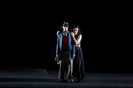 Valer Sabadus (Il Giasone) et Kristina Hammarstöm (Médée) (© GTG / Magali Dougados)