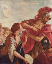 The Return of Jephthah by Giovanni Antonio Pellegrini.