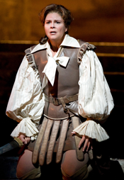 Susan Graham as Sesto (Clemenza di Tito) [Photo: Marty Sohl courtesy of The Metropolitan Opera]