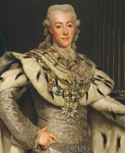 Gustav III by Alexander Roslin [Source: Wikipedia]