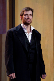 Simon Keenlyside as Hamlet [Photo by Brent Ness courtesy of The Metropolitan Opera]