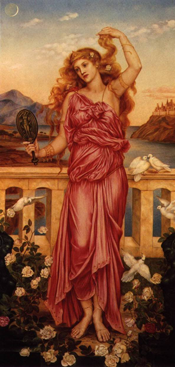 Helen of Troy by Evelyn de Morgan, 1898