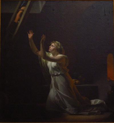 Le supplice d'une vestale (1790) by Henri-Pierre Danloux (1753-1809) [Musée du Louvre]