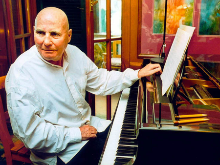 Hans Werner Henze [Photo by Badische Zeitung]