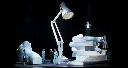 Scene from <em>Elegie für junge Liebende</em> [Photo © Werner Kmetitsch courtesy of Theater an der Wien]
