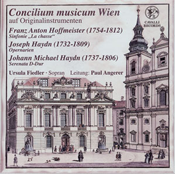Concilium musicum Wien  on authentic instruments