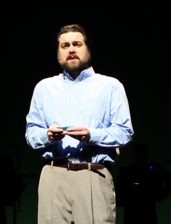 Brian Shircliffe as Mark [Photo by Edward Wilensky courtesy of San Diego Opera]