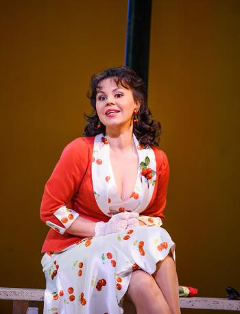 Aleksandra Kurzak as Fiorilla [Photo © ROH. Photographer: Tristram Kenton]