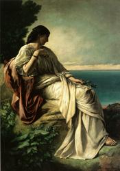 Iphigenie by Anselm Feuerbach (1862)