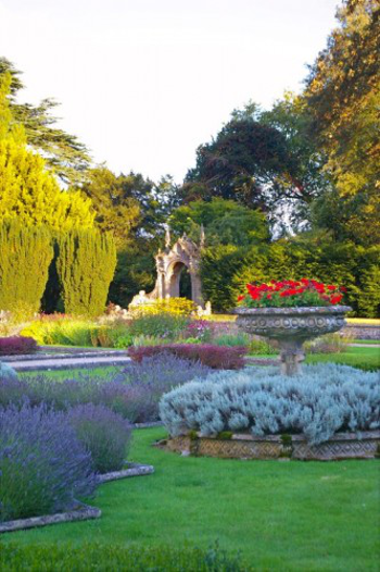 The Italian garden at Westonbirt