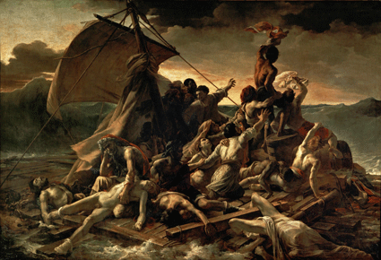 Théodore Géricault : The Raft of the Medusa, 1818