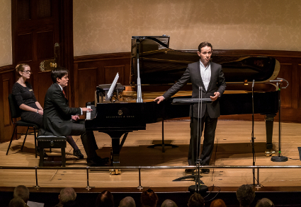Iestyn Davies and James Baillieu [Photo by Clive Barda]