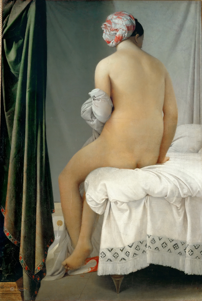 Le bain turc by Jean-Auguste-Dominique Ingres (1862) [Source: Wikipedia]