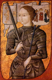 Jeanne d'Arc (Centre Historique des Archives Nationales, Paris, AE II 2490)