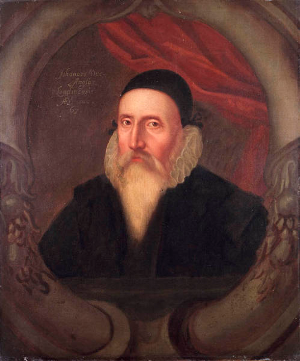 John Dee [Source: Wikipedia]