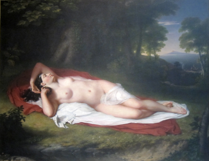 The Sleeping Ariadne in Naxos by John Vanderlyn [Source: Wikipedia]