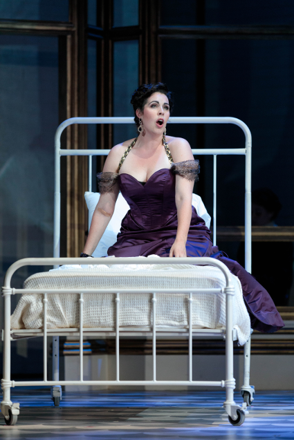 Amanda Woodbury as Violetta [Photo by Karli Cadel/The Glimmerglass Festival]
