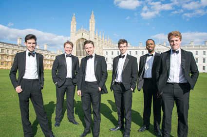 The King's Men [Photo courtesy of Kings College, Cambridge]