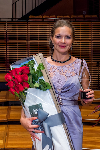 Kseniia Muslanova [Photo courtesy of Elizabeth Connell Prize International Singing Competition]