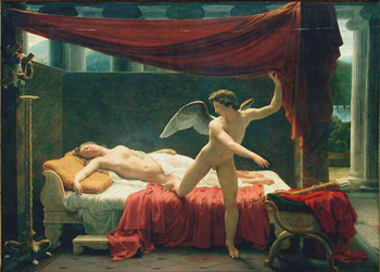 L'Amour et Psych by Franois-Edouard Picot (1817)