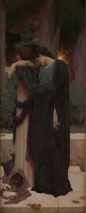 Lachrymae by Frederic Lord Leighton