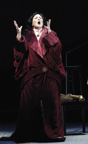 Lauren Flanigan in the title role of