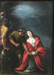 Le Martyre de sainte Irène by Carlo Francesco Nuvolone (1640-1650) [Musée du Louvre]