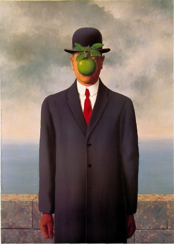 The Son of Man by René Magritte (1964)