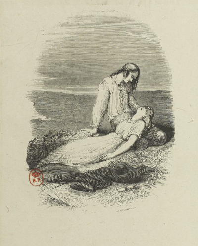 Illustration by Tony Johannot (1803–1852) courtesy of Bibliothèque Nationale de France