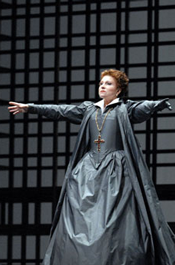 Mariella Devia as Maria Stuarda (Photo by Marco Brescia courtesy of Teatro alla Scala)
