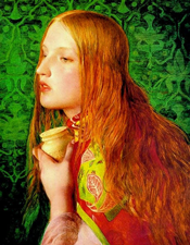 Mary Magdalene by Anthony Frederick Augustus Sandys (c. 1860)