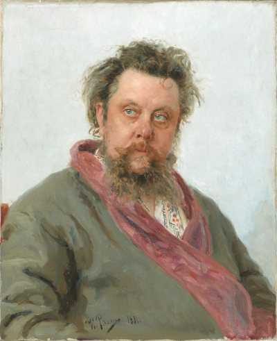Modest Mussorgsky (1839-1881) [Source: Wikipedia]