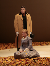 Karita Mattila as Tatiana and Thomas Hampson in the title role of Tchaikovsky's