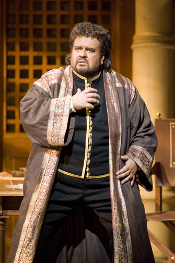 Johan Botha as Otello [Photo by Terrence McCarthy courtesy of San Francisco Opera]