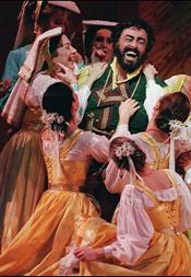 Luciano Pavarotti as Nemorino