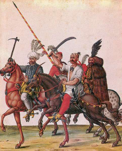 Ottoman soldiers in the territory of present-day Hungary (circa 1550–1600) [Source: Wikipedia]