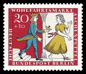 Postage stamp issued in West Berlin in 1965jpg