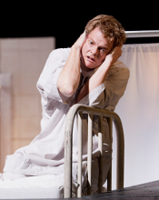 Toby Spence as Tom Rakewell [Photo by Johan Persson courtesy of the Royal Opera House]