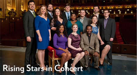 The Rising Stars Ensemble [Photo courtesy of Lyric Opera of Chicago]