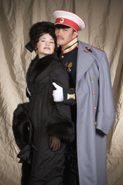 Robert Gierlach (Vronsky) & Kelly Kaduce (Anna Karenina) Photo Credit: Deborah Gray Mitchell