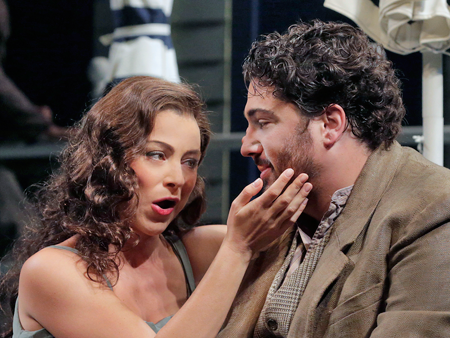 Corinne Winters as Magda and Anthony Kalil as Ruggero [Photo © Ken Howard]