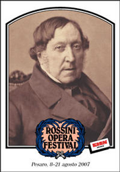 Rossini Opera Festival Program — 2007