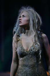 Kelly Kaduce is Rusalka (Act 3) in the Minnesota Opera Production of Rusalka  (Photo © Michal Daniel, 2008)