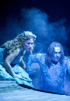 Barbara Haveman as Rusalka and Alexeï Tikhomirov as L'Ondin [Photo courtesy of Opéra Monte-Carlo]